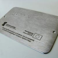 Oznaczenie drzwi dla osób niewidomych